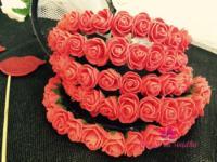 Cvetni rajf za devojke sa cveticima 300 din