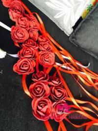 Cvetne trakice oko ruke 200 din moza da bude i trakica za glavu 200 din po želji boja